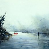 Wandering Through A Strait by Gallery 8 Salt Spring artist Sandhu Singh
